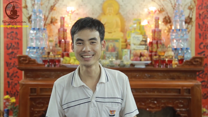 Sau 8 buổi học khí công và thiền định với Thầy Phúc Thành, Minh Định đã cải thiện được việc biếng ăn, người hay mệt mỏi